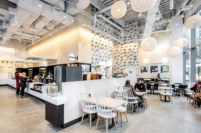 Chopt Creative Salad modern restaurant design