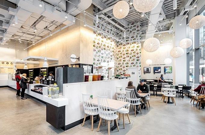 Chopt Creative Salad modern restaurant design