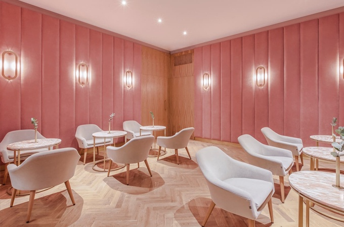 Nanan restaurant design by BUCKSTUDIO