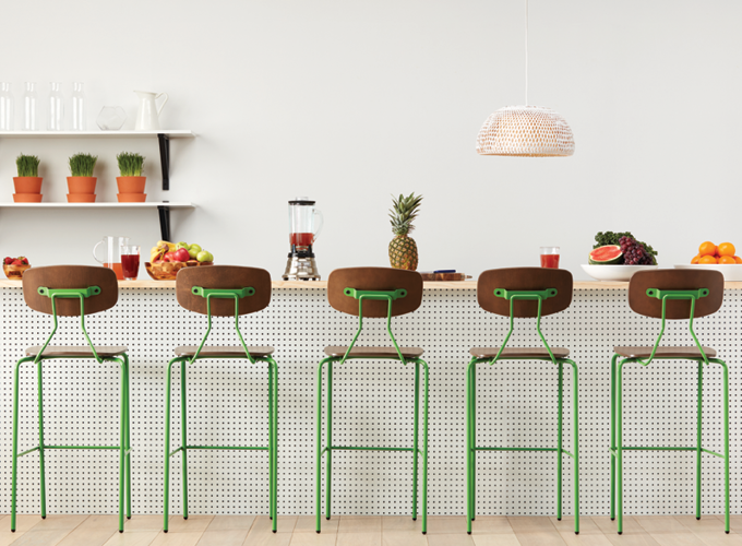 Reece Barstools in Yellow Green.png
