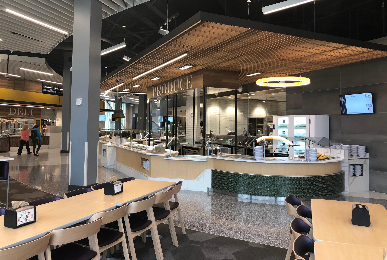 D Hall cafeteria design