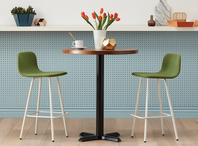 simple and modern restaurant stool