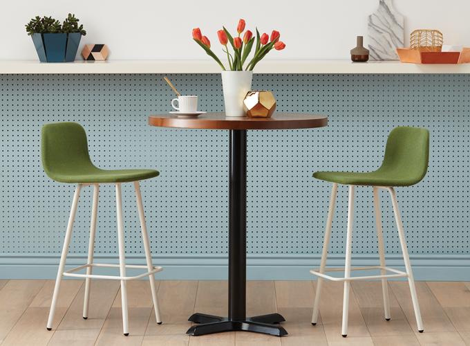 simple and modern restaurant stool