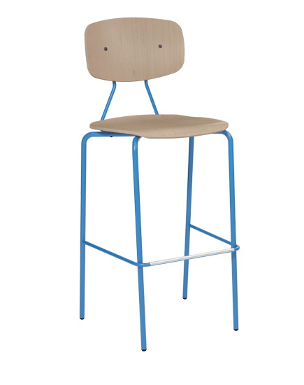 Reece Partially Upholstered Barstool