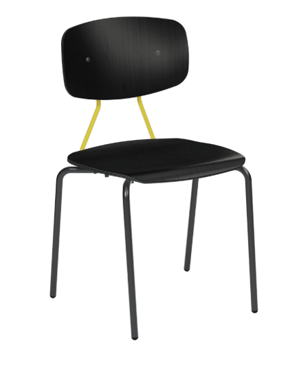 Reece Chair with Contrasting Back