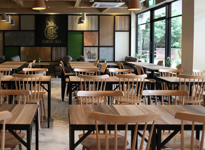 Windsor Chair Burger King Restaurant
