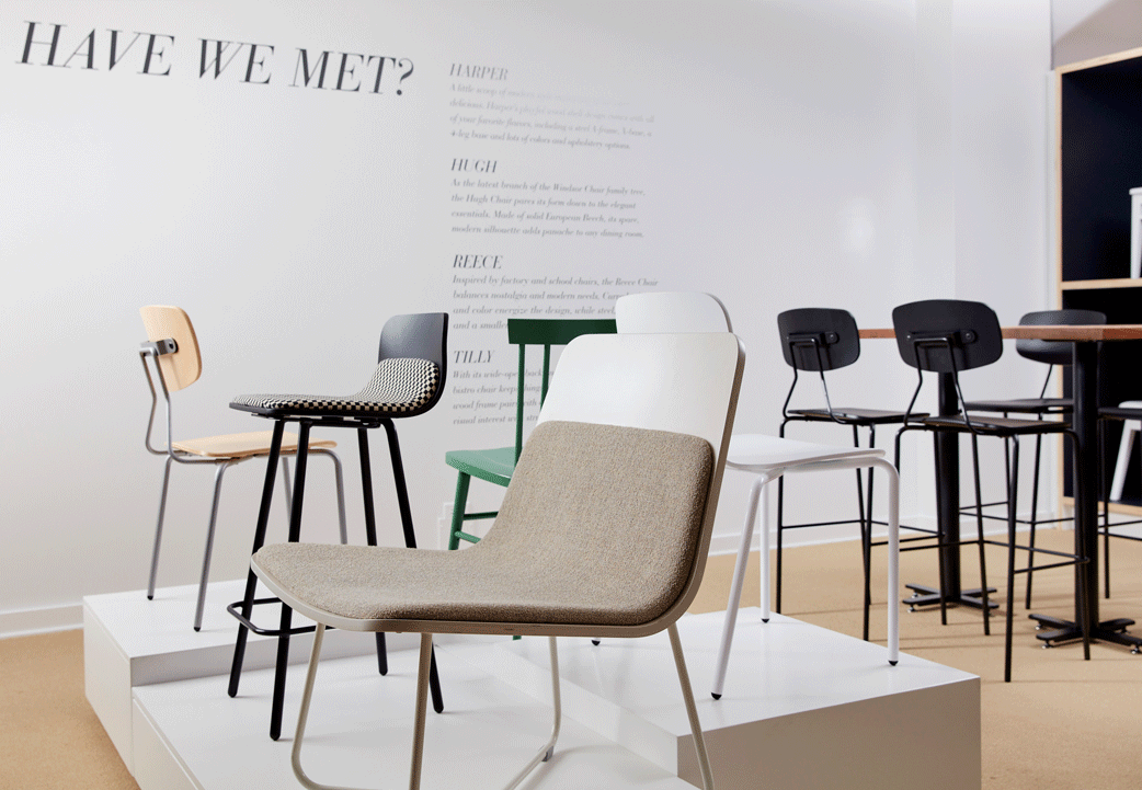 NeoCon 2016: Modern Restaurant Furniture