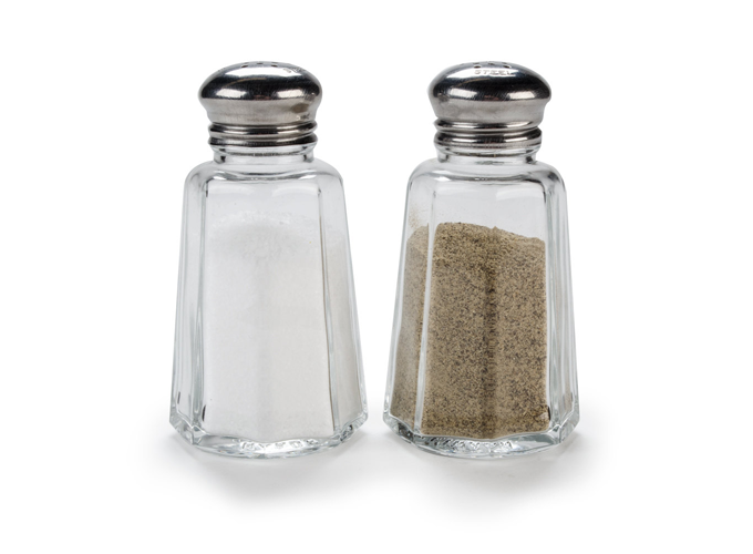 Ruiter's Inspiration - salt and pepper shakers