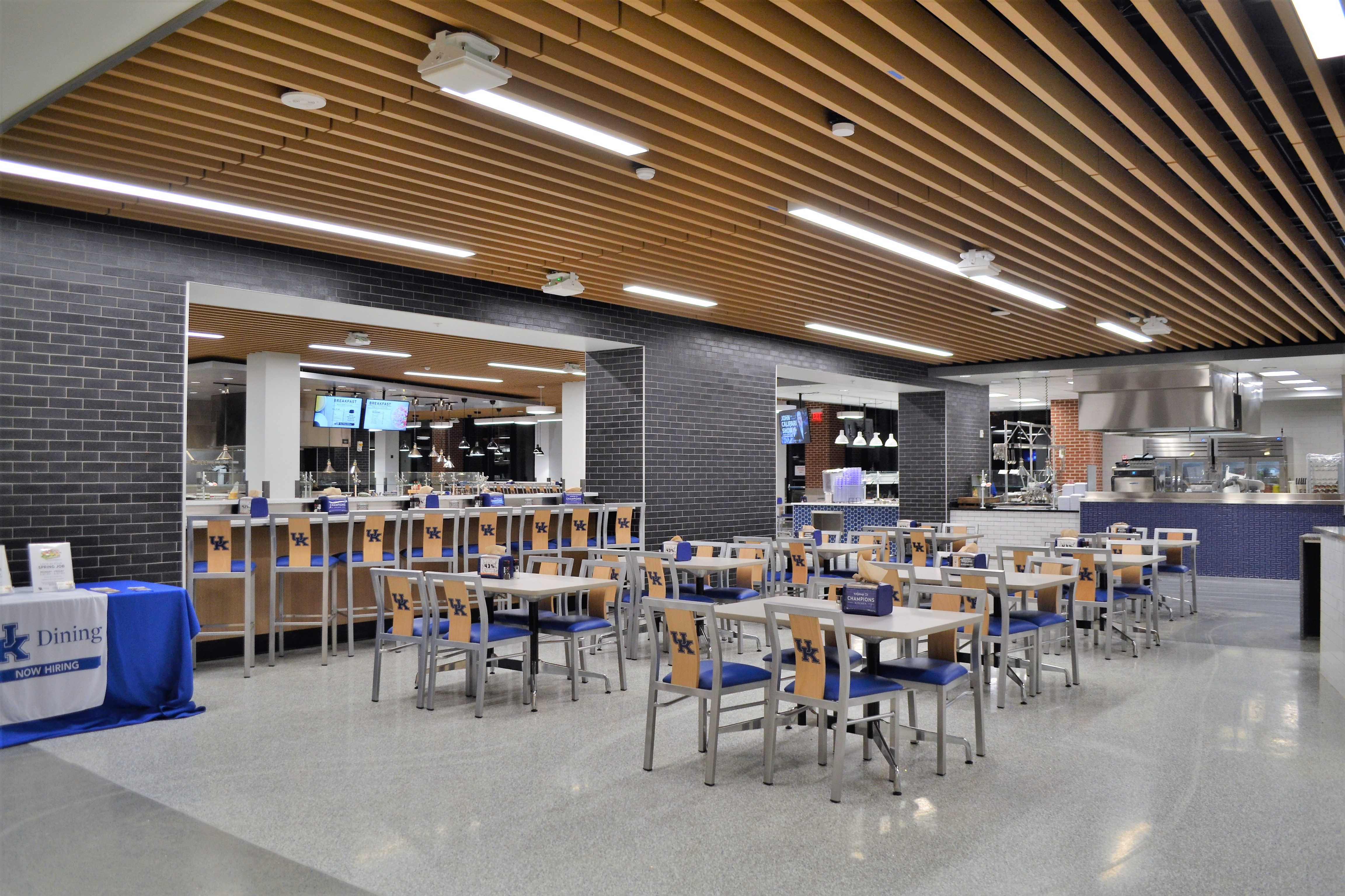 Grand Rapids Chair Jill Chair in university dining