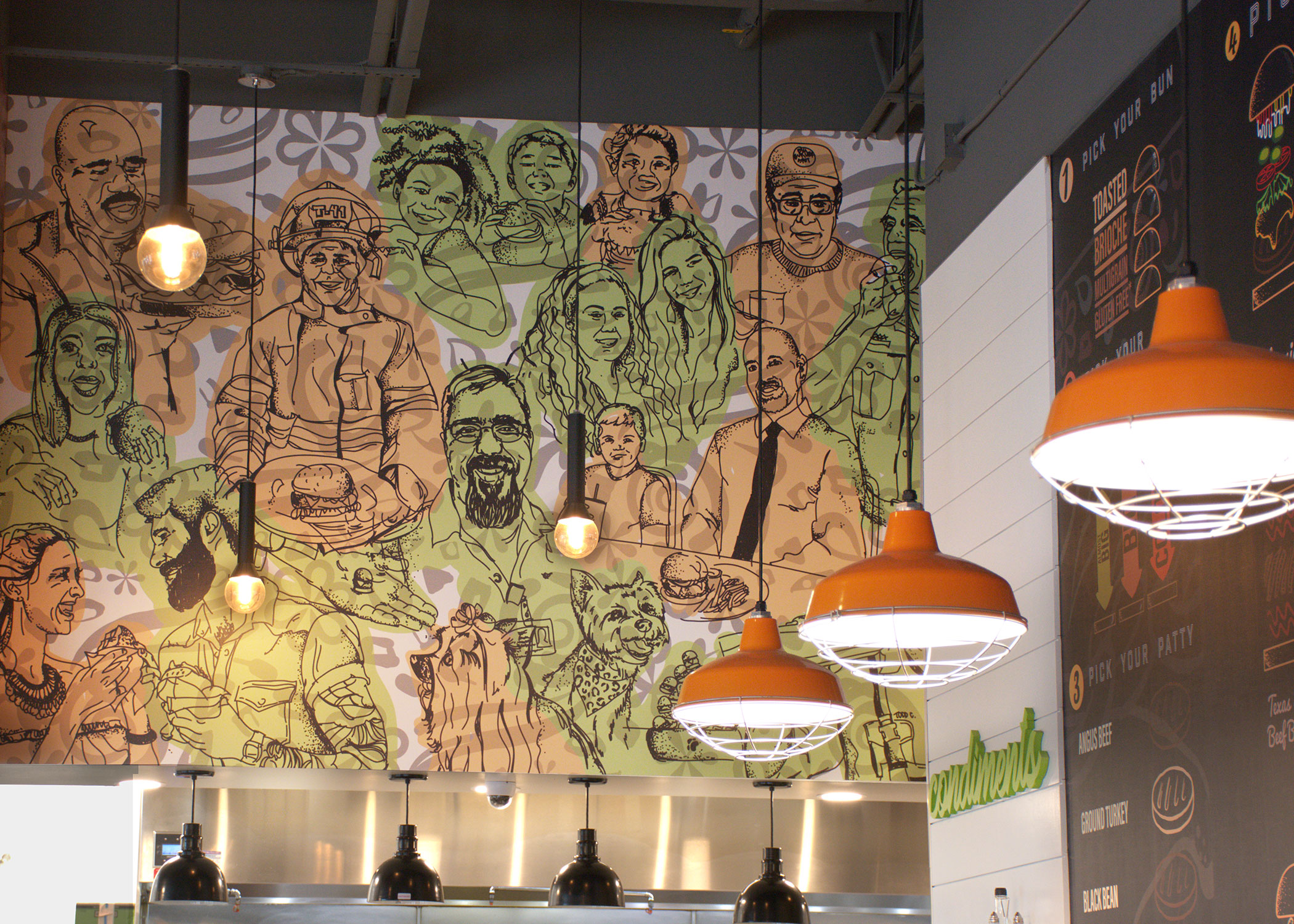 Mural-design-in-restaurant