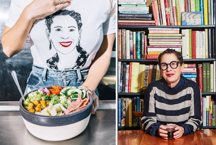 Nancy Silverton x Sweetgreen branding