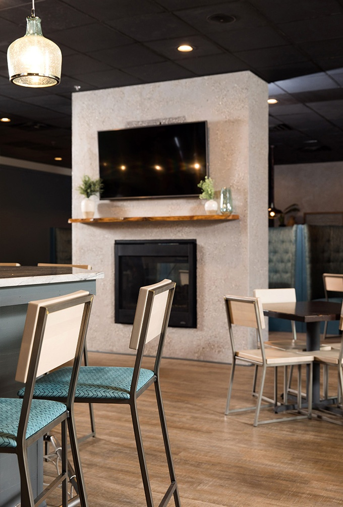 Modern restaurant chairs by Grand Rapids Chair Co.