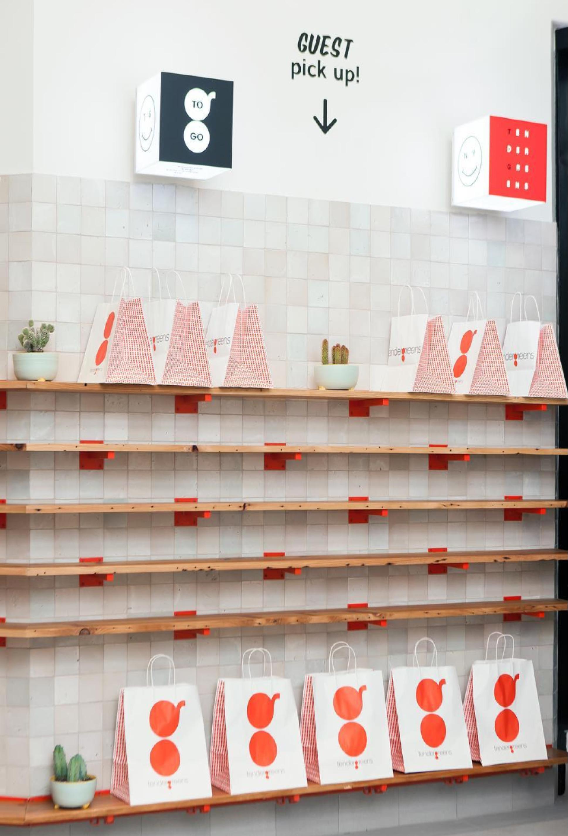 Tendergreens restaurant design trends