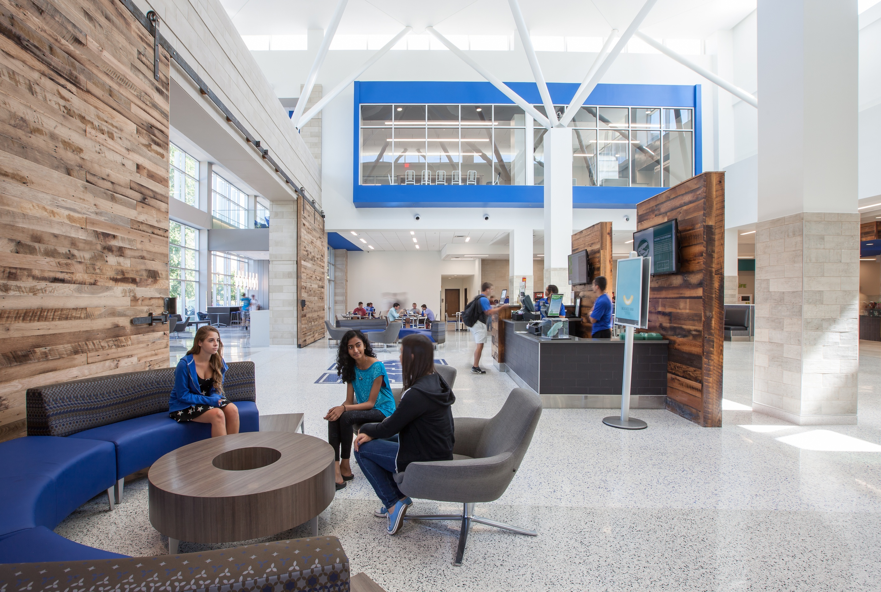 University Commons University of Kentucky cafeteria design
