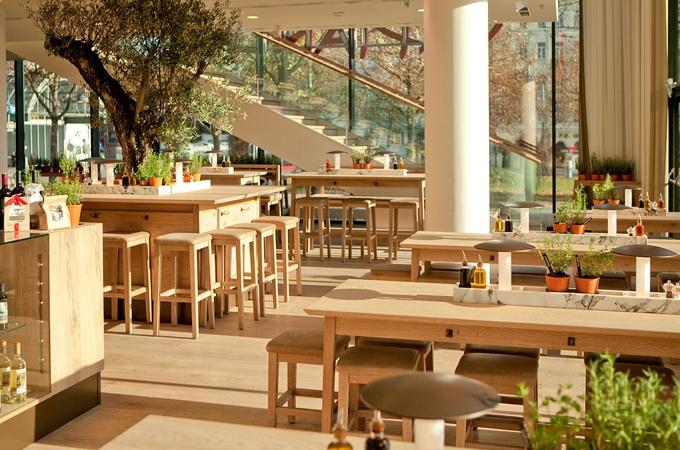 Vapiano restaurant design