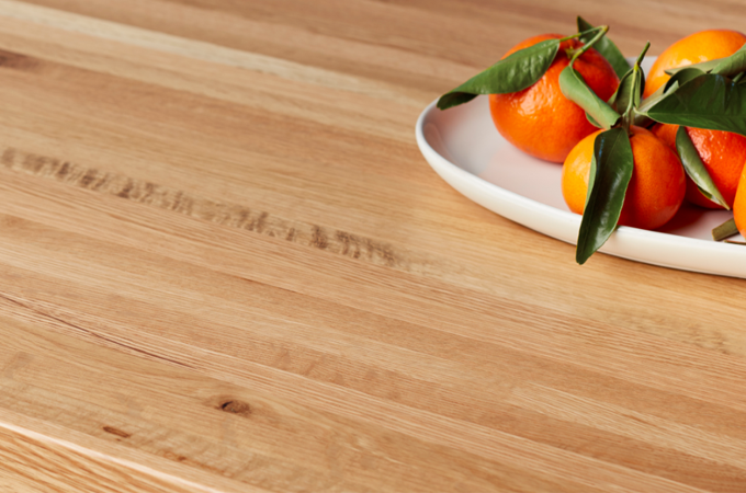 Solid White Oak resturant table