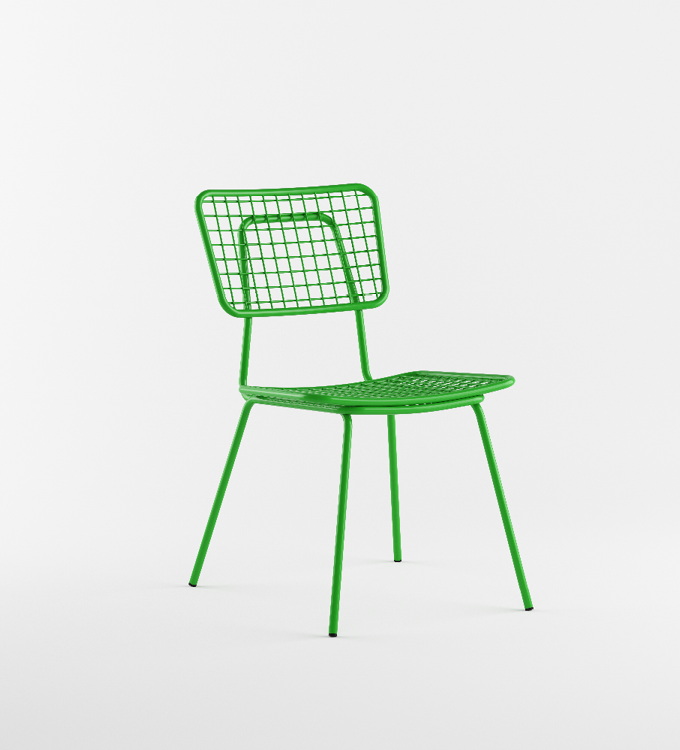 Green Outdoor Chair called Opla