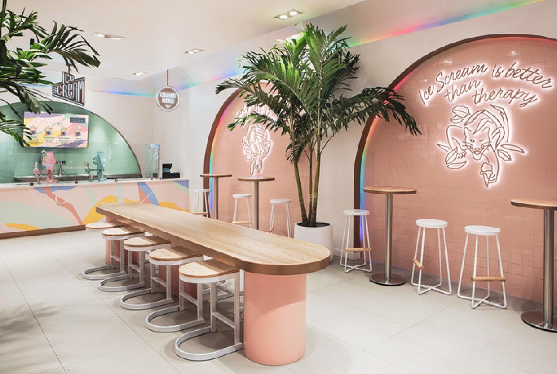 colorful restaurant 2019 restaurant design trends
