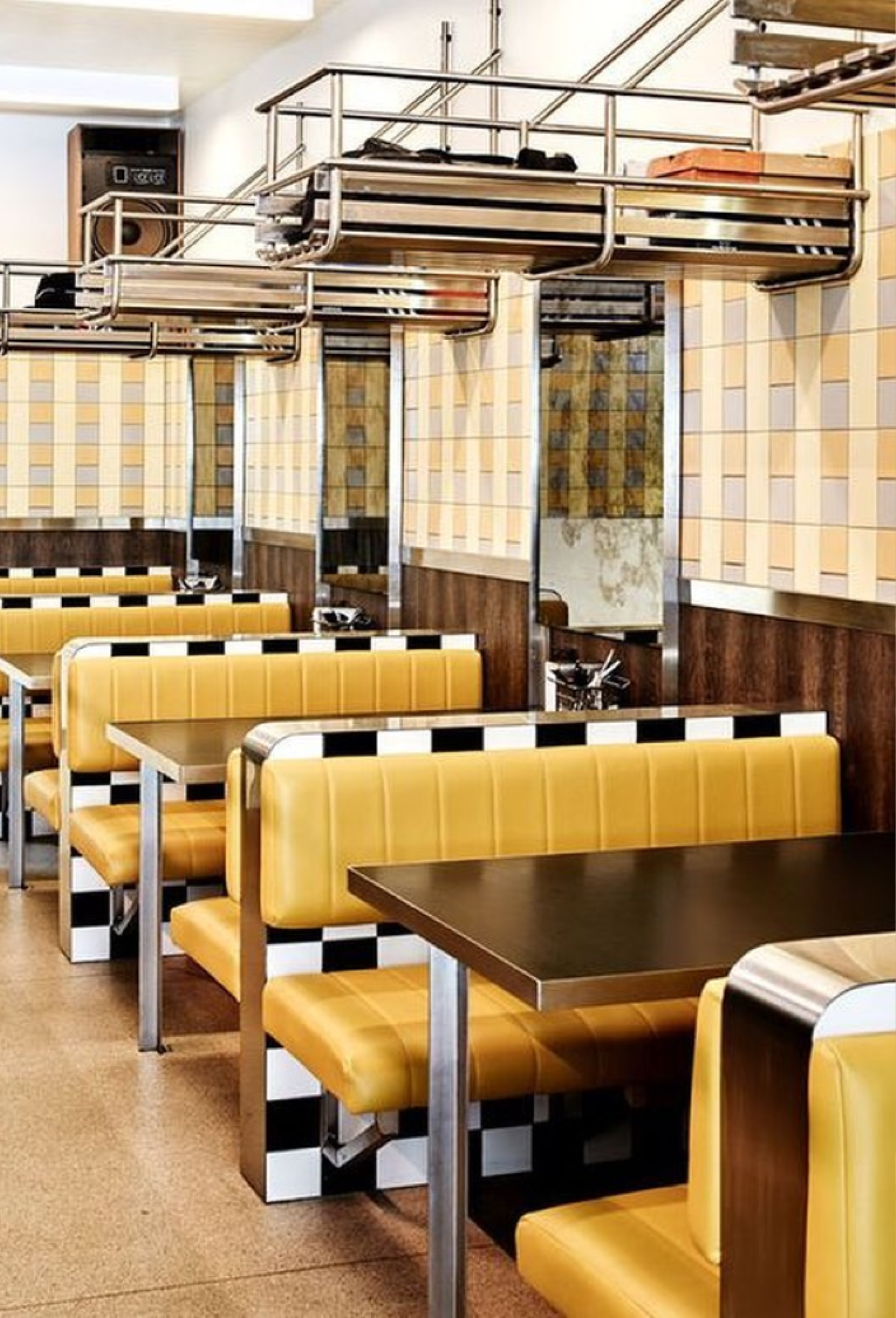retro restaurant design trends