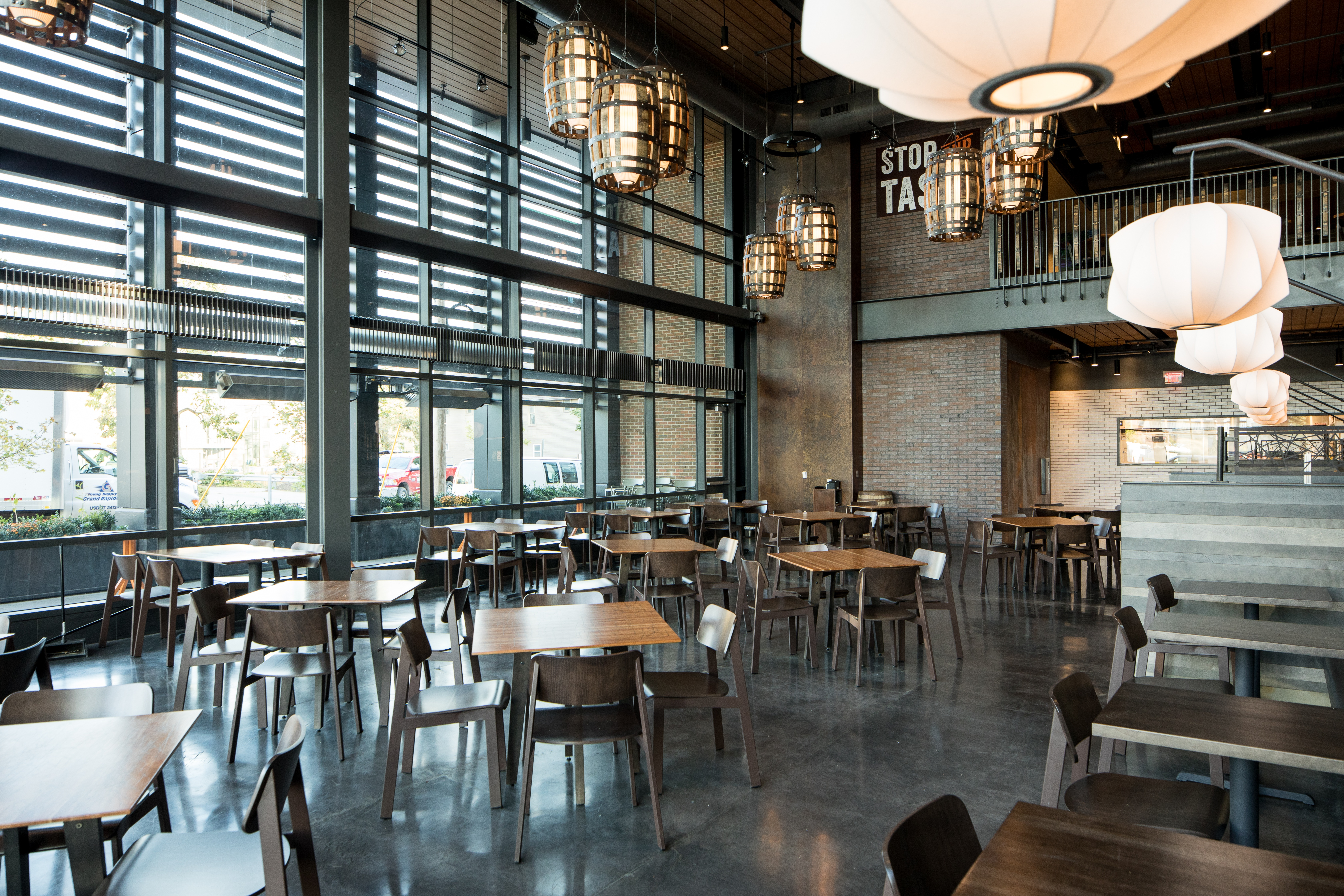 restaurant design ideas: how to do rustic without dating your