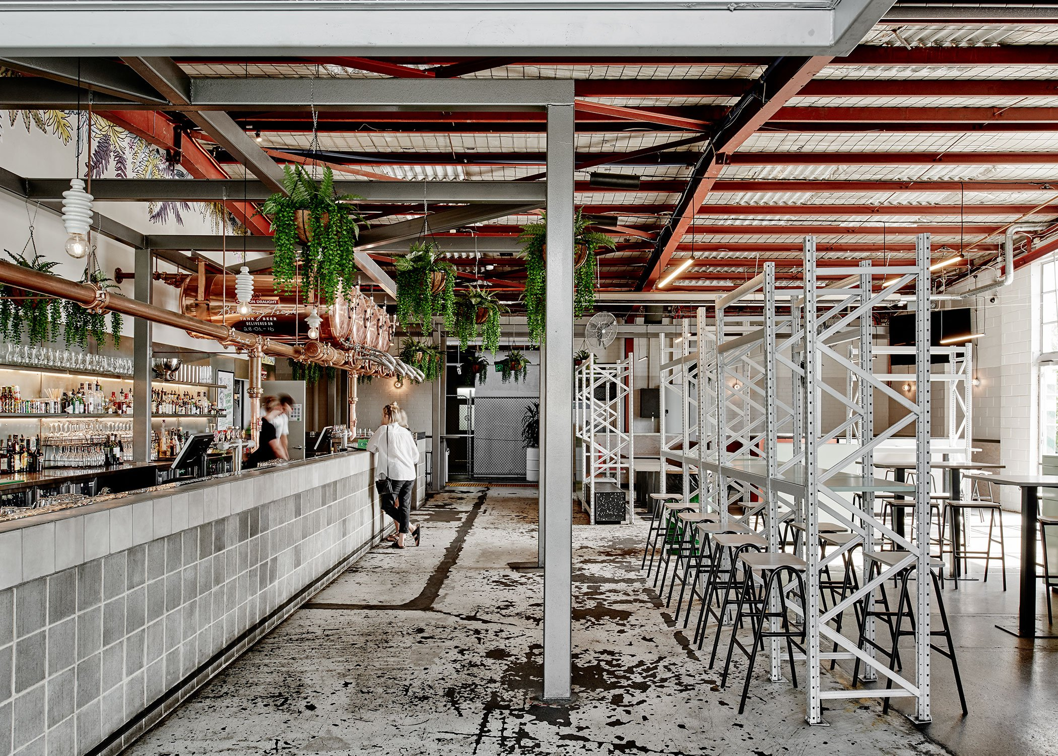 Restaurant Design Ideas How To Do Rustic Industrial Without Dating Your Restaurant