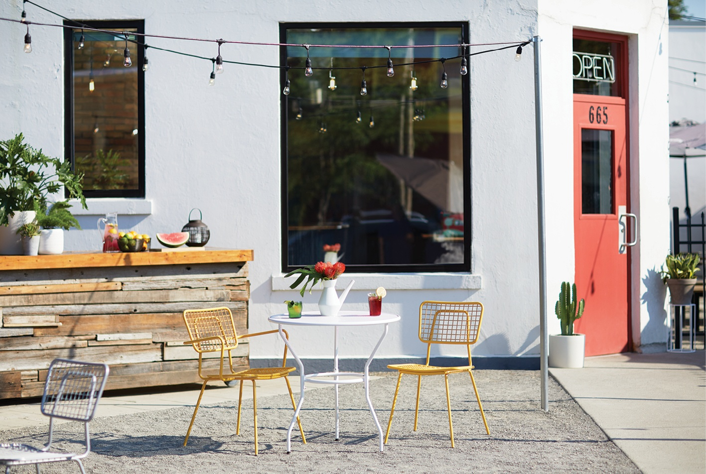 Opla Collection Outdoor Restaurant Furniture
